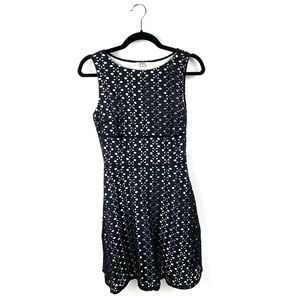 BB Dakota Dresses - BB Dakota Black and White Eyelet Dixon Dress XS